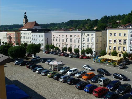 Urlaub in Bayern, Tittmoning Altstadt, Tittmoning historische Altstadt,