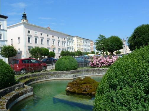 Tittmoning Altstadt, Stadtplatz,