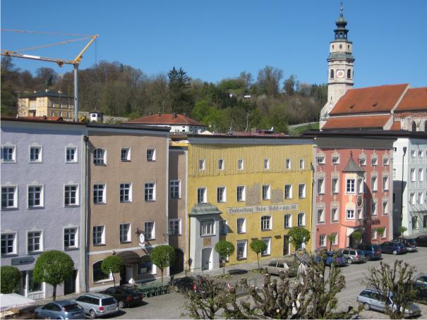 Tittmoning Altstadt,
