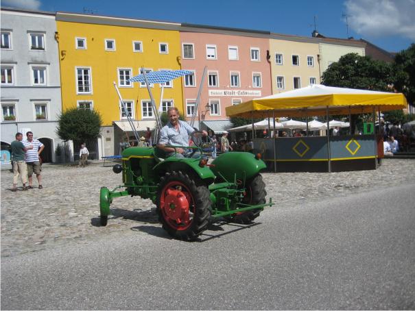 Tittmoning, Südbayern, Altstadt,