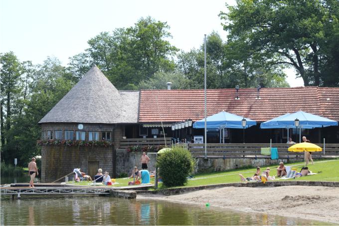 Tittmonig Seebad, Leitgeringersee