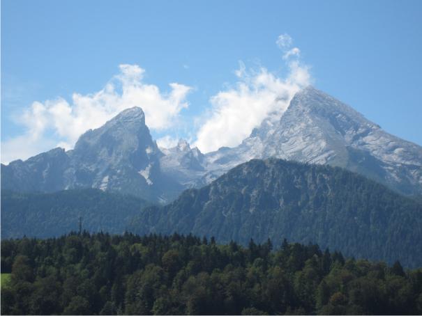 Watzmann, bayerisches Alpenland