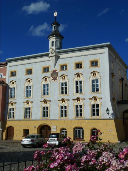 Tittmoning altes Rathaus