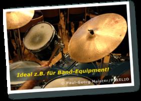 Kastenwagen Ideal z.B. für Band-Equipment