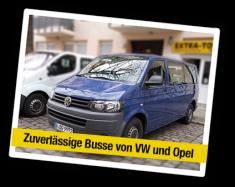 Kleinbus - Zuverlässige Busse von VW und Opel