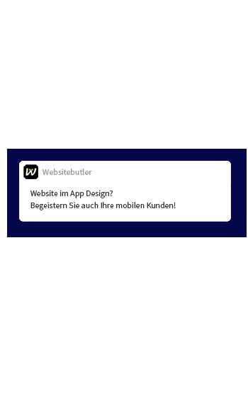 Website im App Design