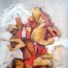 Abstraktion 3      36 x 51