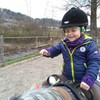 Eierlauf zu Pferd