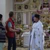 In der Kirche von Juskivzi