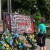 Gedenktafel in Ternopil