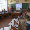 """Europaparlament"" der Schule in Juskivzi"