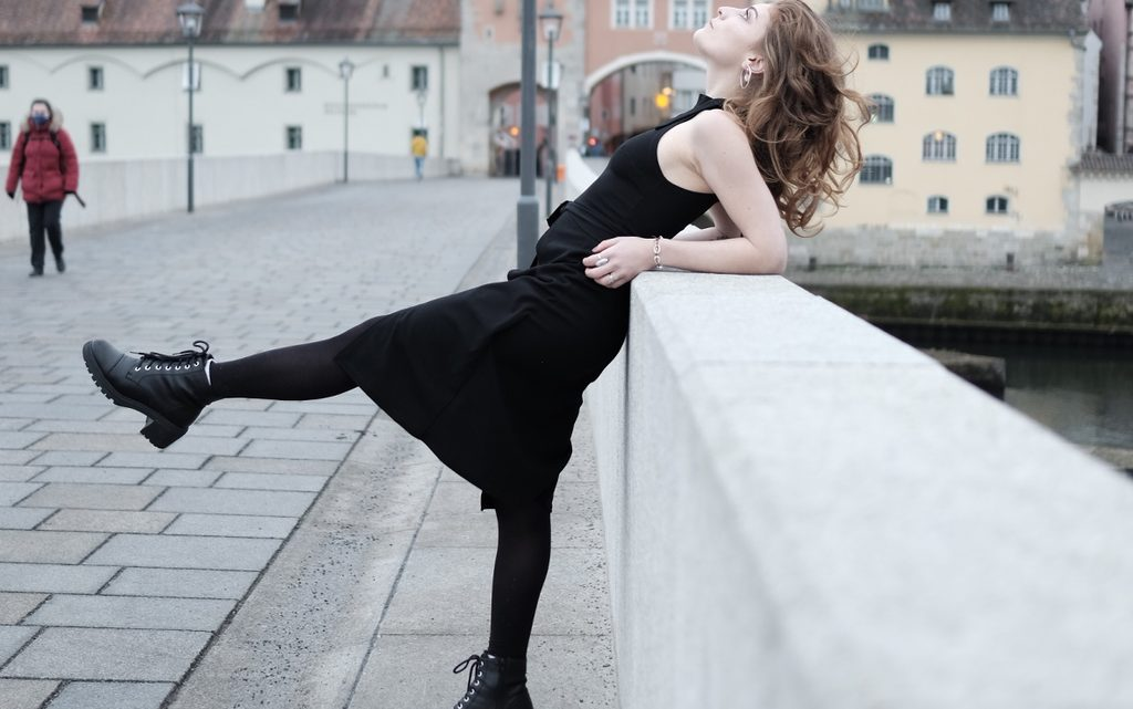 Model geschminkt von  Marta Arakelova