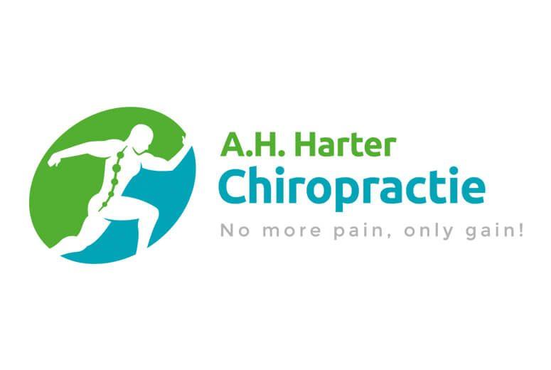 Logo voorbeeld Chiropractie Eazyonline