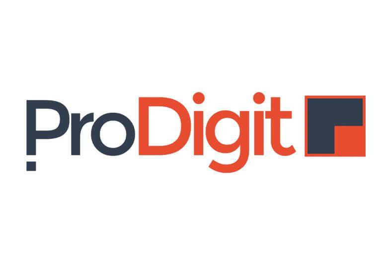 Logo voorbeeld ProDigit