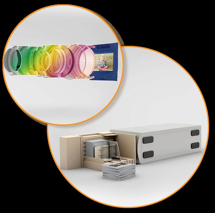 Dias digital per Reproduktion oder Nikon Coolscan 5000 ED Scanner