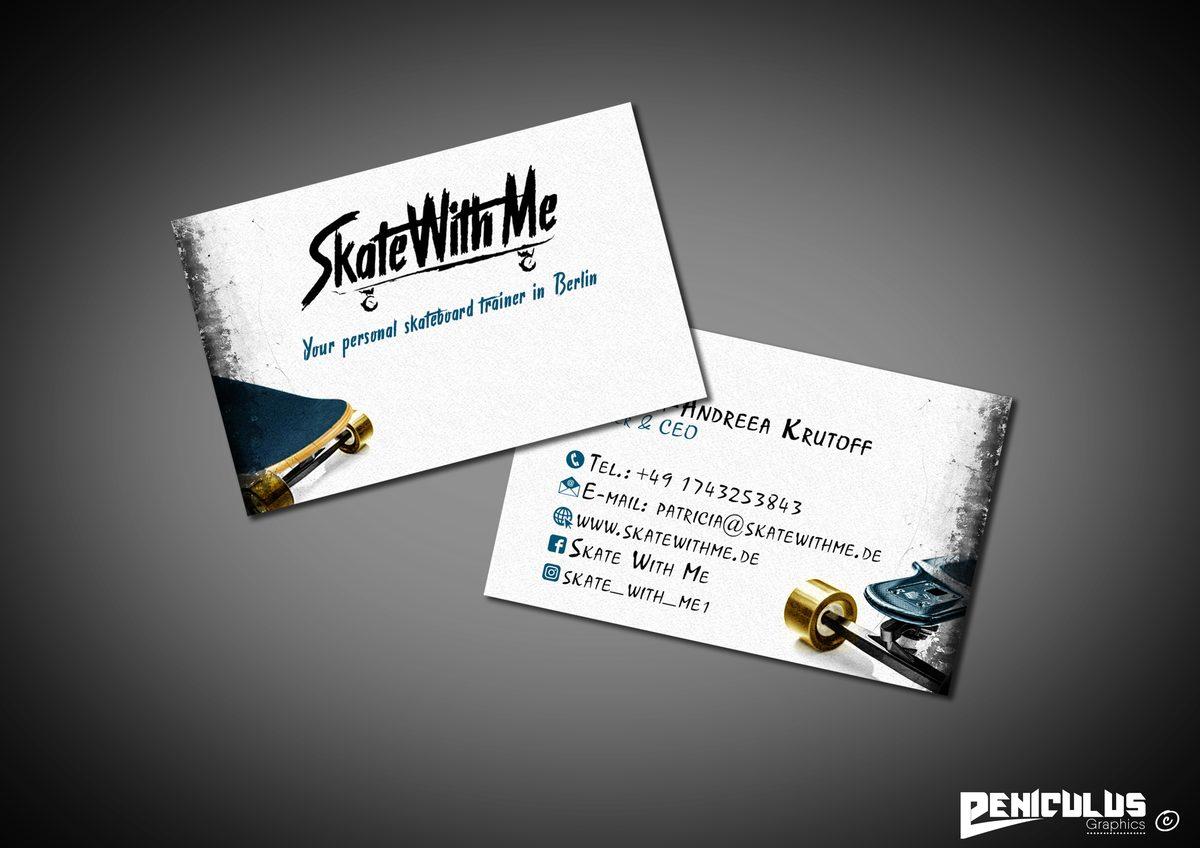 Visitenkarten Grafikdesign Webdesign