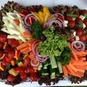 frische Gemüseplatte