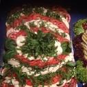 Tomate-Mozarella-Platte
