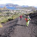 Sizilien Aktivreise, Vulcano Wanderung auf den Gran Cratere