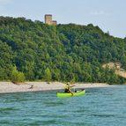 Friaul und Venedig Aktivreise, Kanutour auf dem Tagliamento