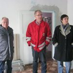Besichtigung der Renovierungsstelle Sozialstation