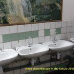 Die neuen Waschbecken