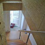 Die fast fertige Treppe