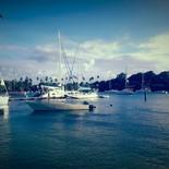 der Yachthafen von St. Vincent