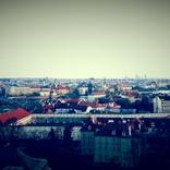 Prag von oben, Ausblick von der Prager Burg aus