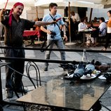 Straßenkünstler in Palermo