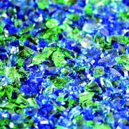 glas blaugrün