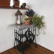 Tischplatte für altes Nähmaschinengestell