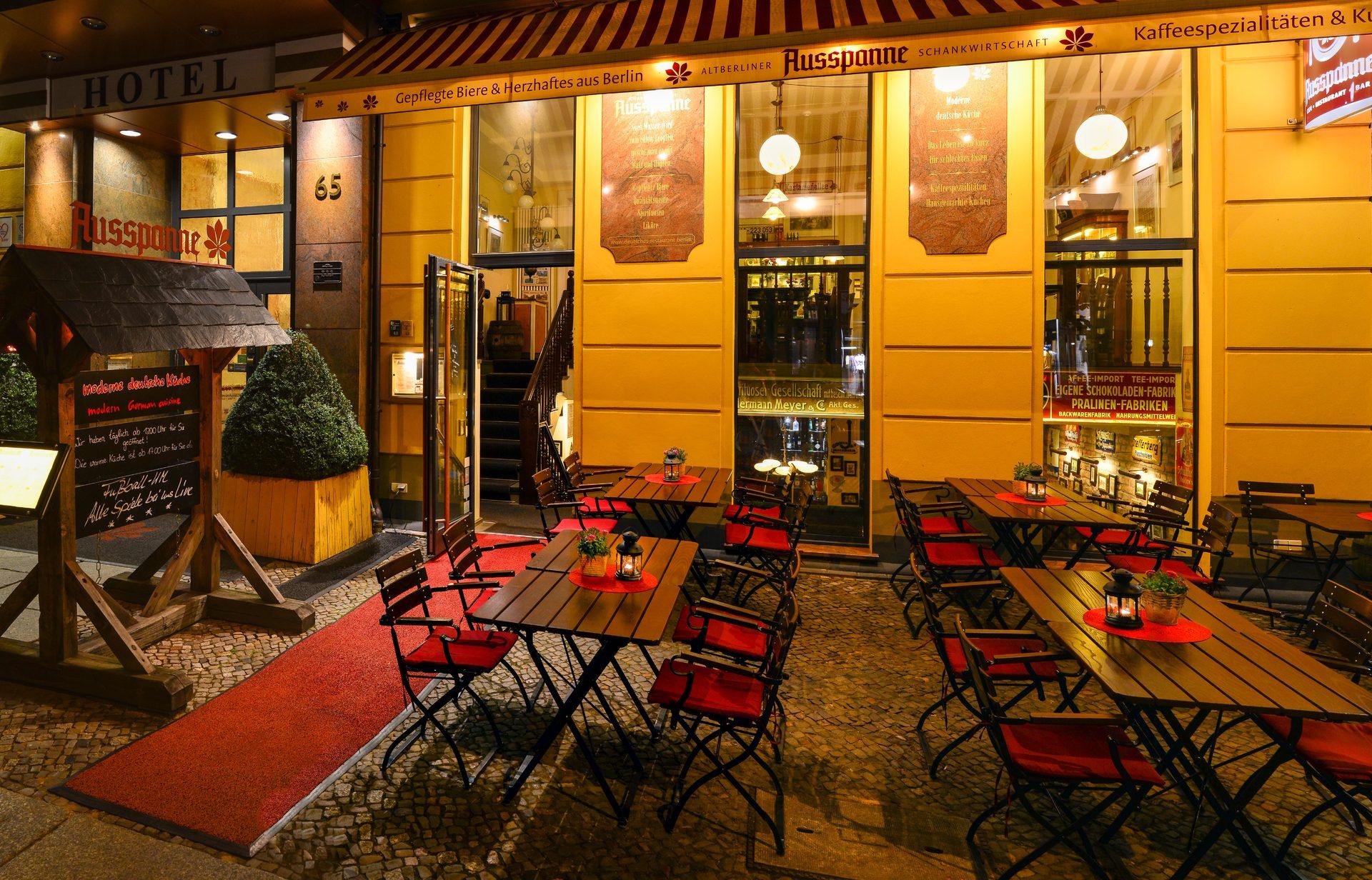 Ausspanne Deutsches Restaurant Berlin