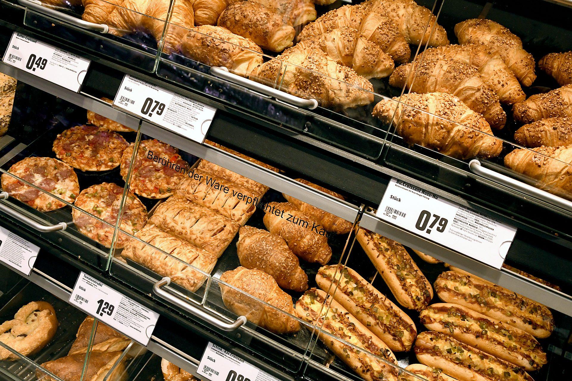 Backshop und Bäckerei