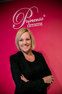 Princess Dreams Mitarbeiterin Christine Funke