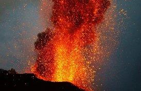 Stromboli Ausbruch