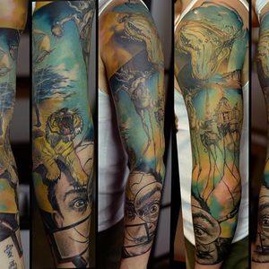 Selfmade Tattoo Berlin Zsofia Belteczky salvador dali abstract art