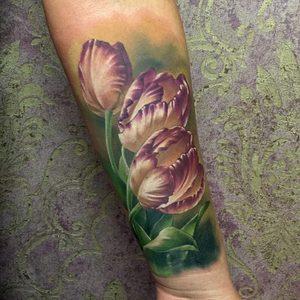 Selfmade Tattoo Berlin-Zsofia Belteczky flower nature