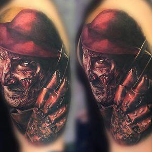 Selfmade Tattoo Berlin Zsofia Belteczky horror freddy krueger