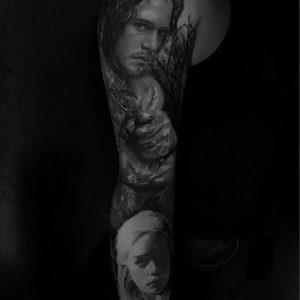Selfmade Tattoo Berlin Kristof Tito Kondrat GOT game of.thrones john snow daener