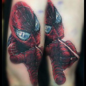 Selfmade Tattoo Berlin Zsofia Belteczky marvel spiderman