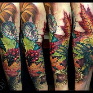 Selfmade Tattoo Berlin Zsofia Belteczky nature tier color.