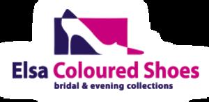 Das Logo von Elsa Coloured Shoes / Rainbow Club. Diese Firma bietet hochwertige Brautschuhe an, welche einfärbbar sind.