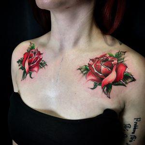 Bartek, Szulc, Selfmade, Tattoo, Berlin, Vegan, Rose, nature, watercolor, abstract, tattoos, blume, flower