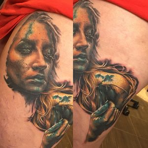Belteczky Zsofia Selfmade Tattoo Berlin Vegan realistic portrait