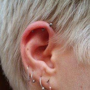 David, Detre, Selfmade, Tattoo, Berlin, Piercing, Piercer, Helix