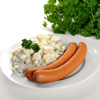 Pair of Wiener + Potato Salad