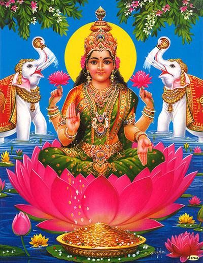 Göttin des Glücks, der Fülle und der Schönheit