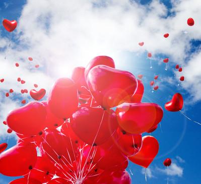 Ballons steigen lassen zu Ihrer Hochzeit