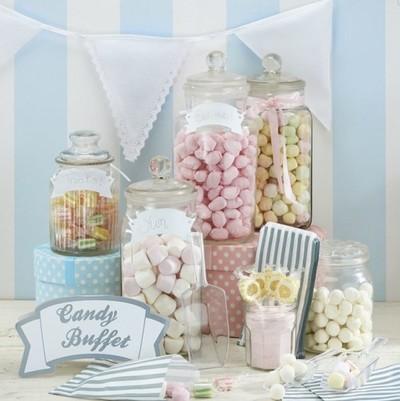 Candybar - Eine essbare Dekoaugenweide für Ihre Hochzeit